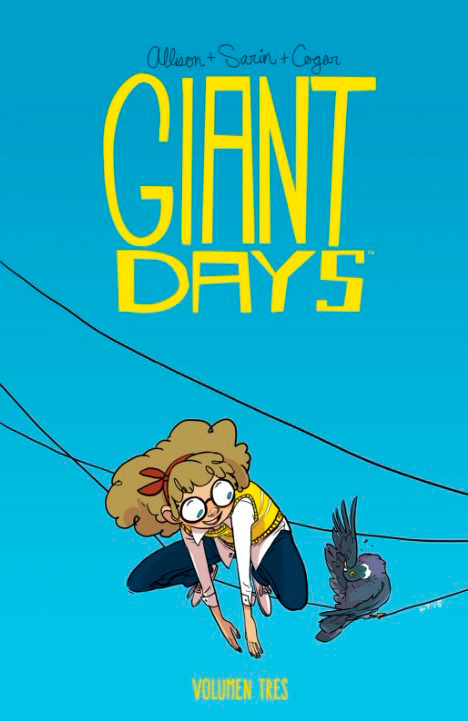 Portada libro - Giant Days Volumen 3