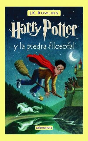 Portada libro - Harry Potter y la Piedra Filosofal