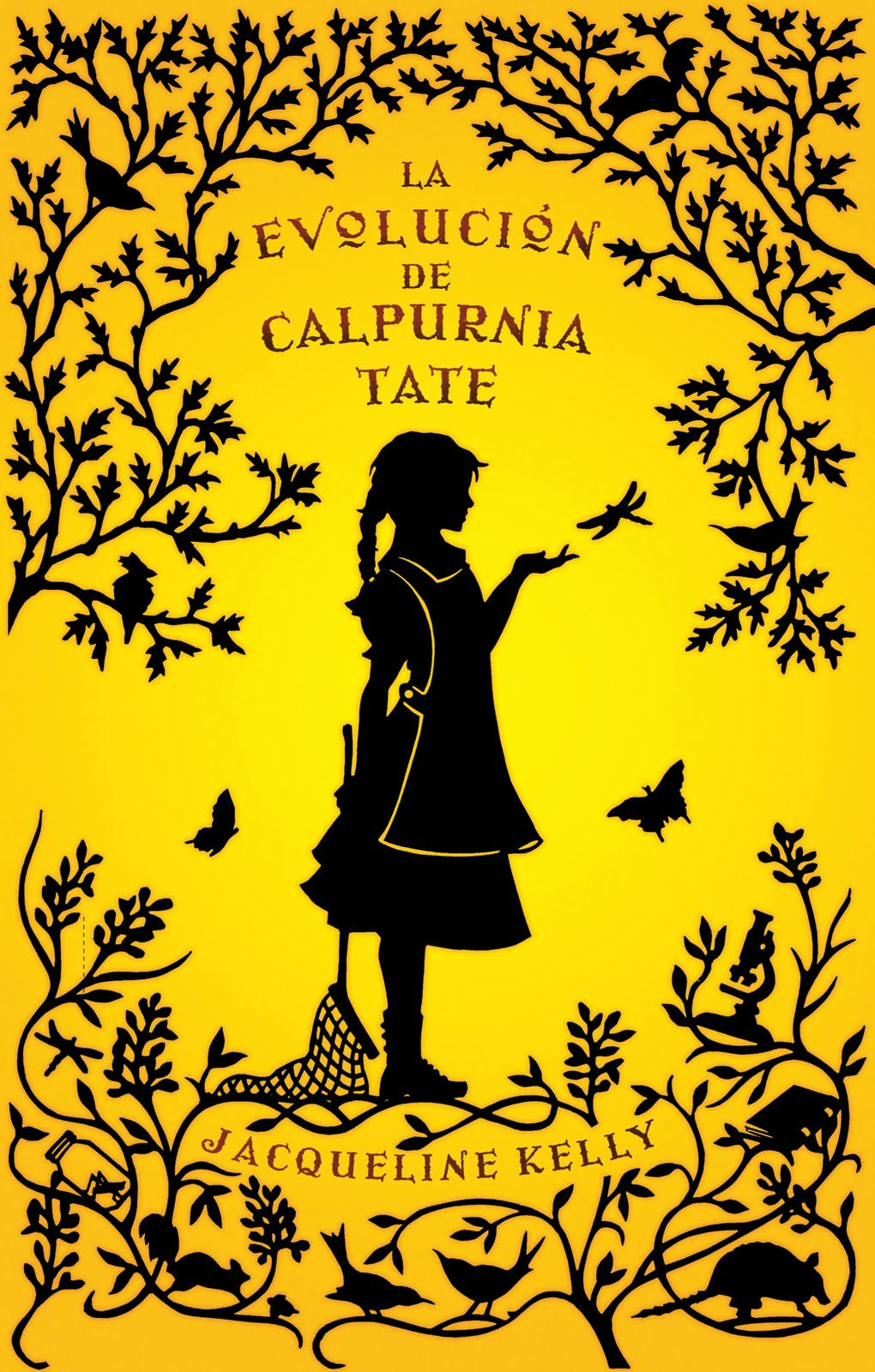 Portada libro - La evolución de Calpurnia Tate