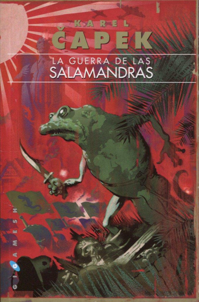 Portada libro - La guerra de las salamandras