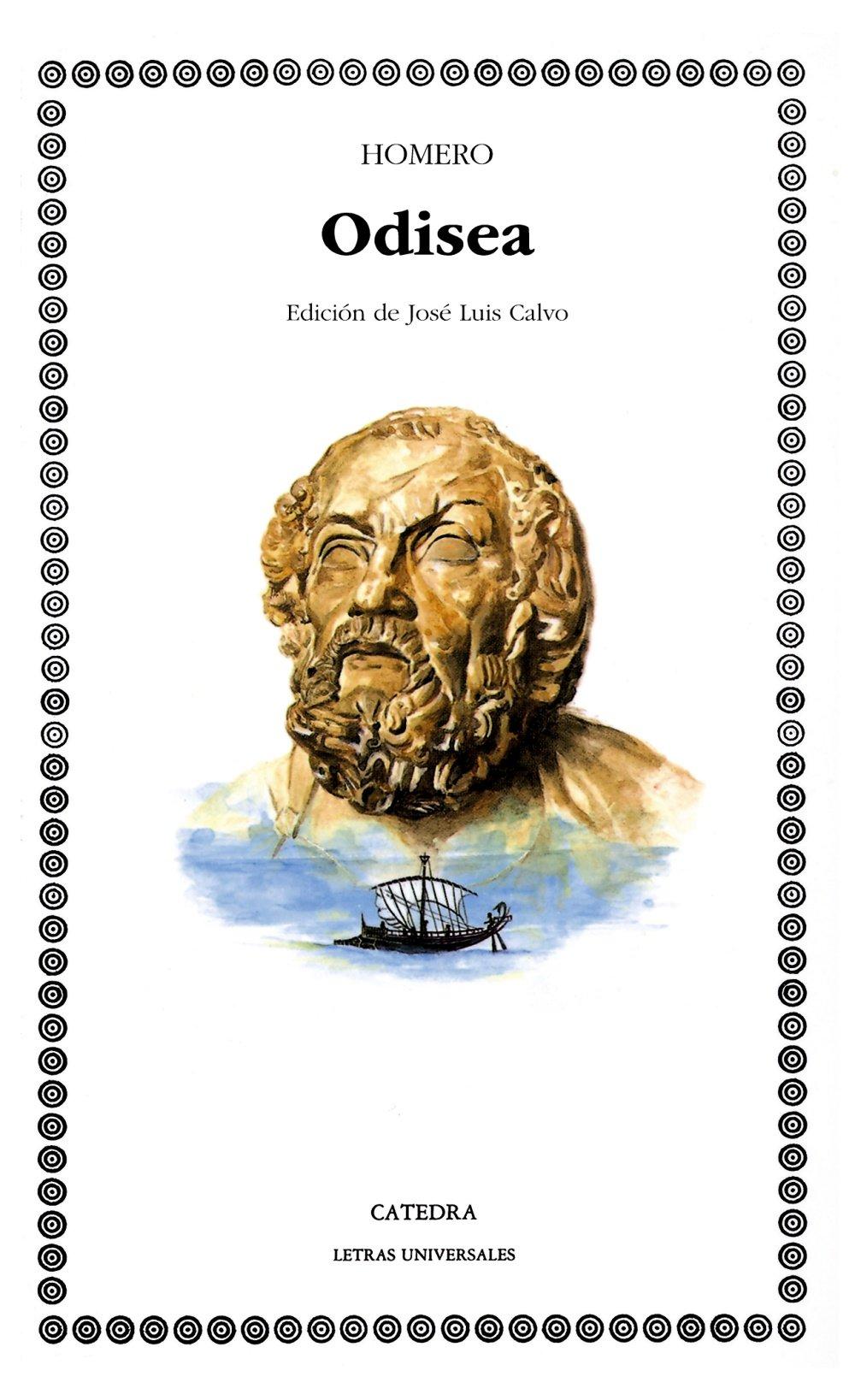 Portada libro - La Odisea