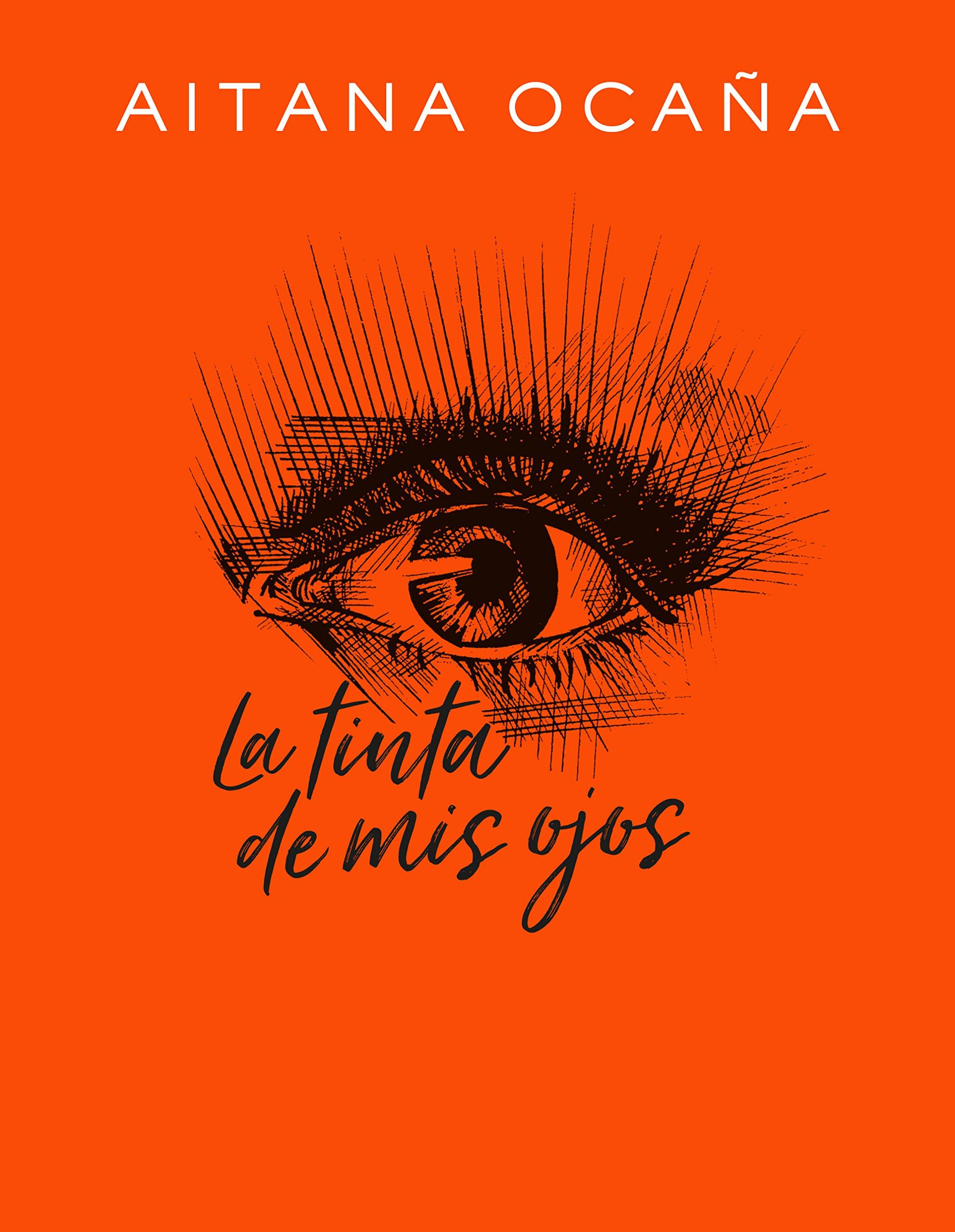 Portada libro - La tinta de mis ojos