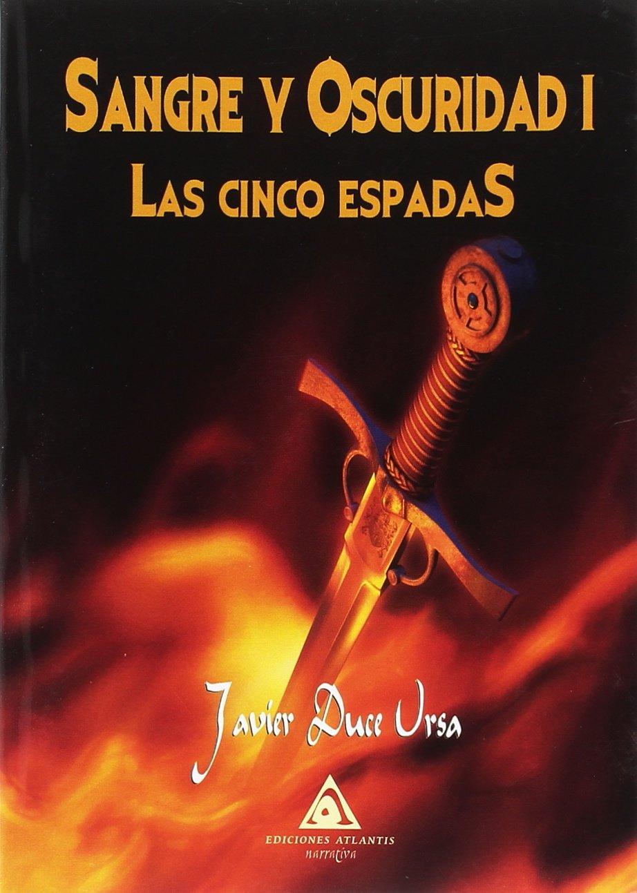 Portada libro - Las cinco espadas