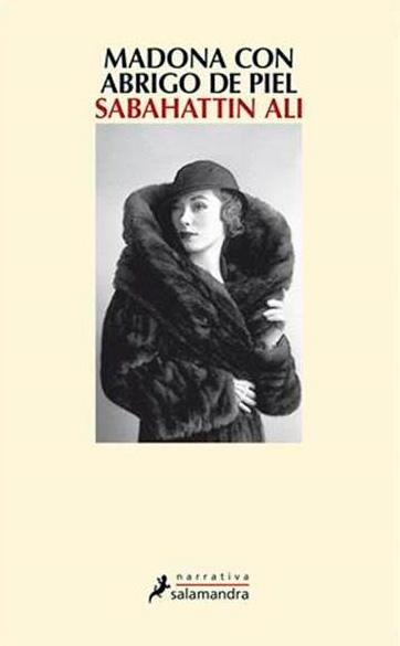 Portada libro - Madona con abrigo de piel