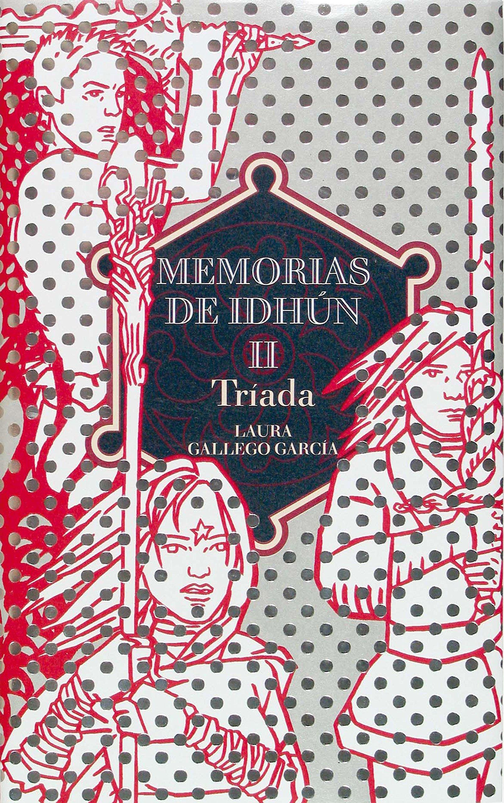 Portada libro - Memorias de Idhun 2 - Tríada