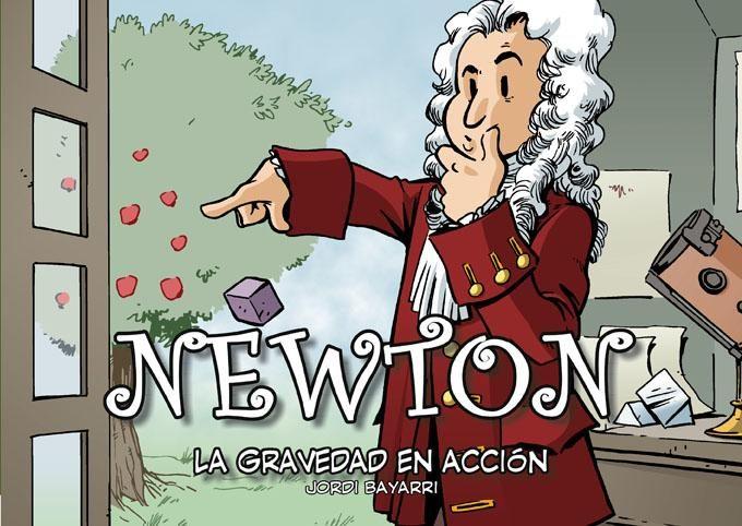 Portada libro - Newton. La Gravedad En Acción