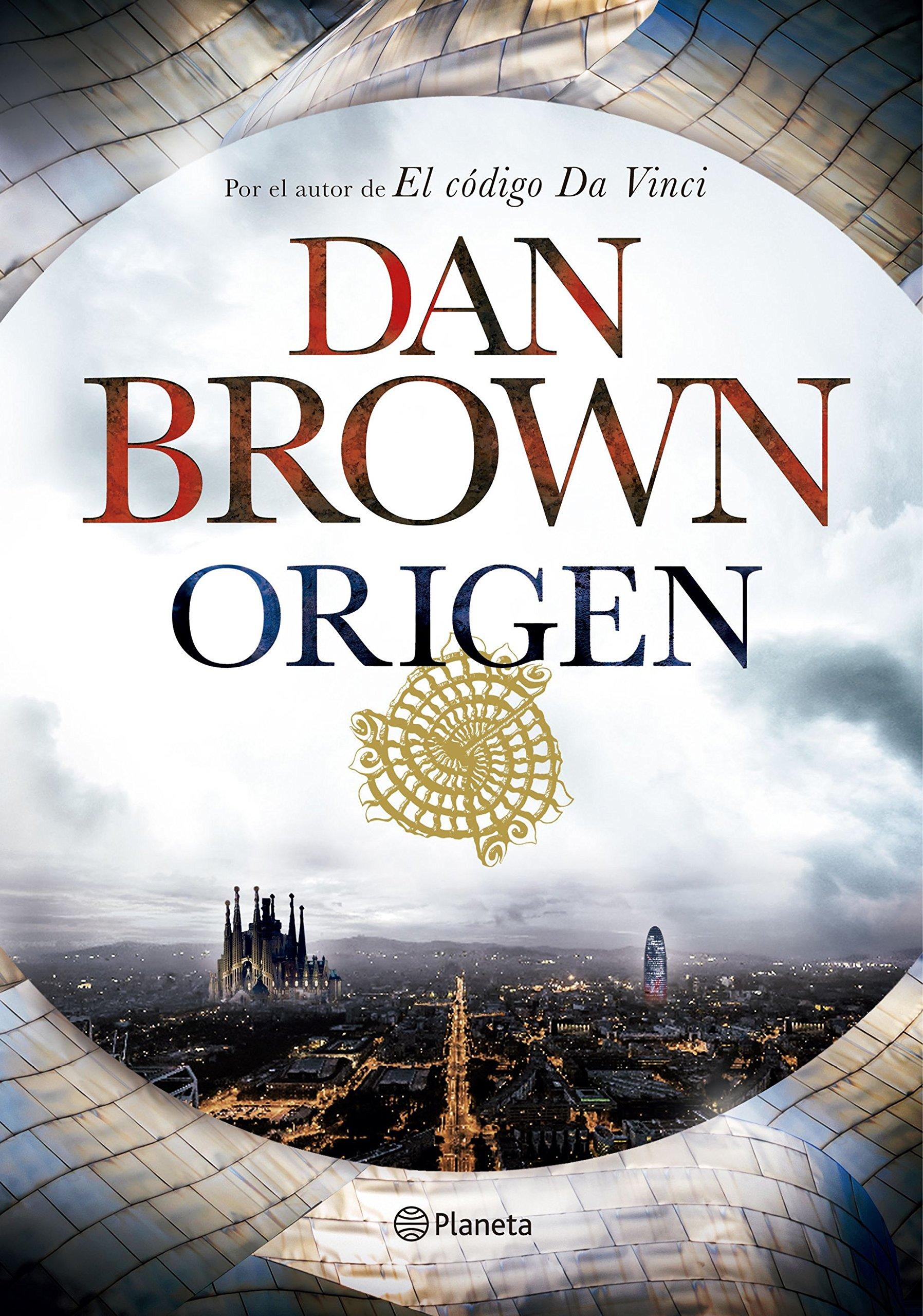 Portada libro - Origen