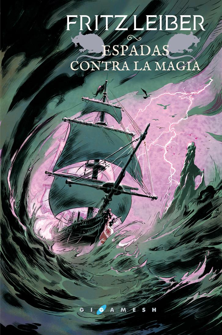 Portada libro - Espadas contra la magia