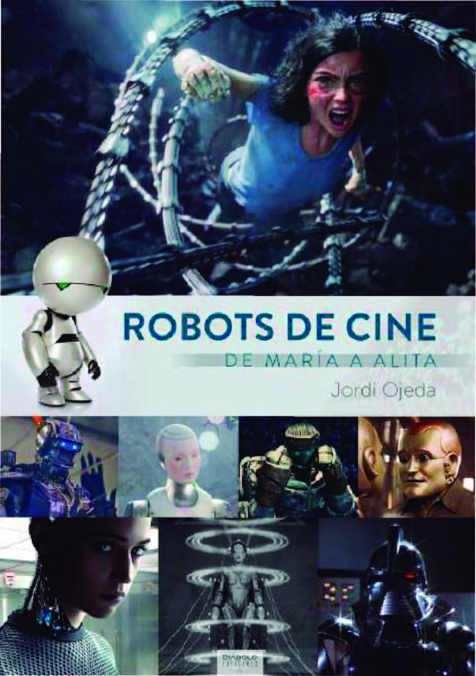 Portada libro - Robots de cine. De María a Alita