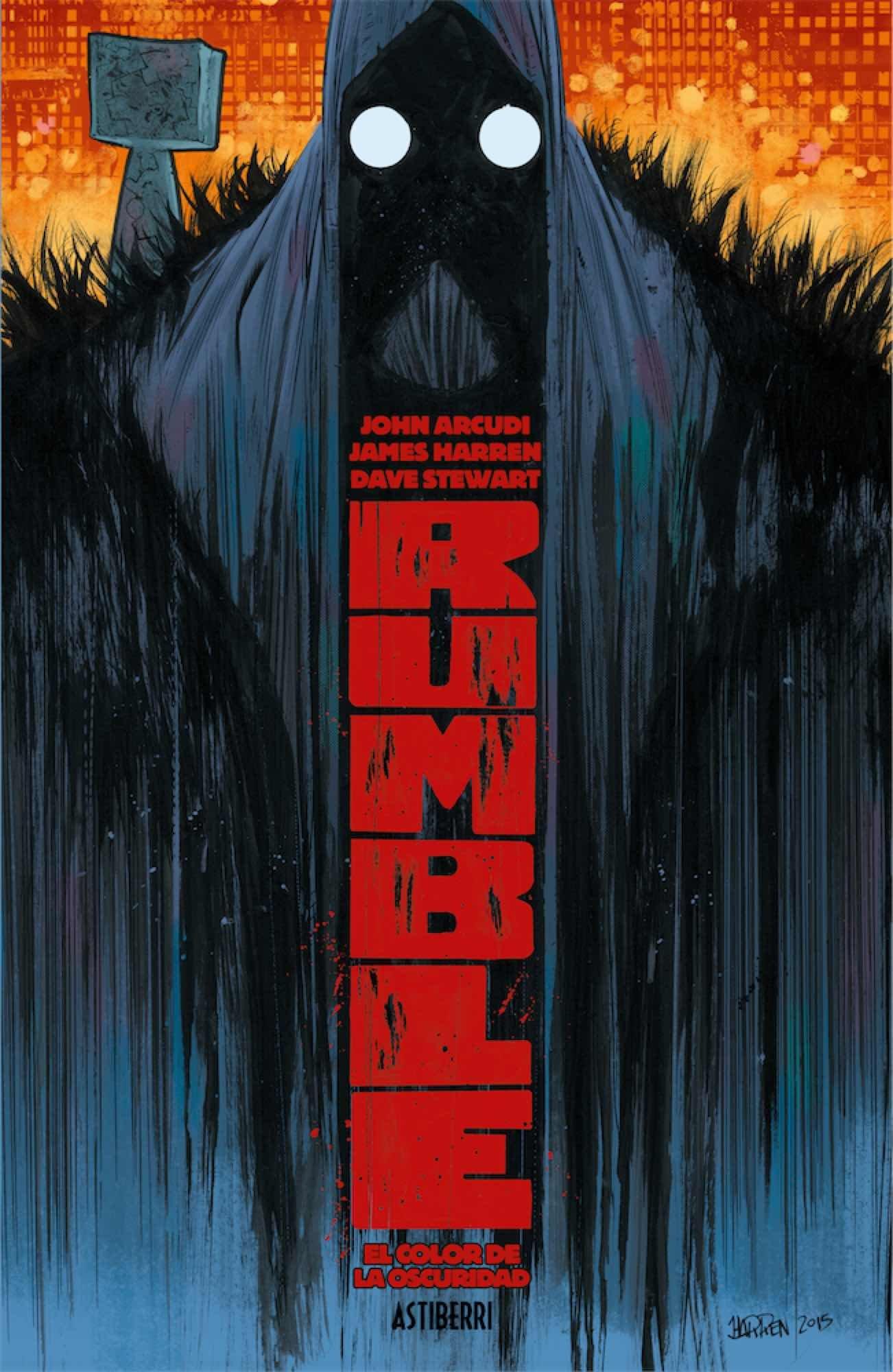 Portada libro - Rumble 1. El color de la oscuridad