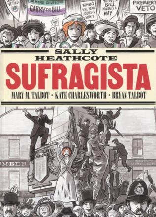 Portada libro - Sally Heathcote, Sufragista