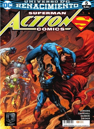Portada libro - SUPERMAN: ACTION COMICS 5