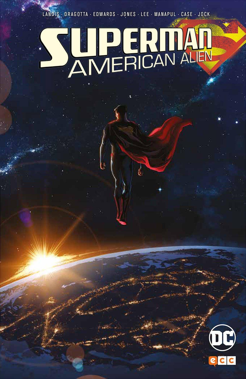 Portada libro - Superman American Alien