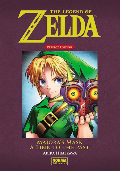 Portada libro - The Legend of Zelda - Perfect Edition 2: Majora's Mask y a Link to the Past