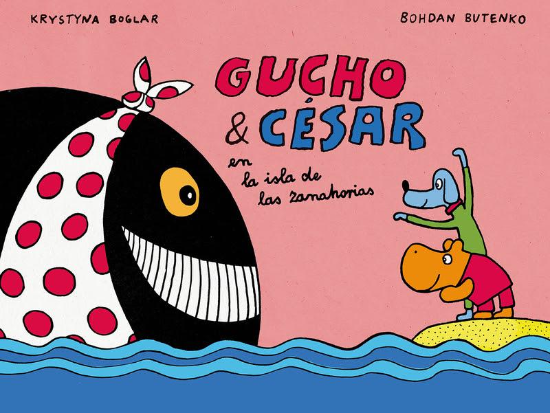 Portada libro - Gucho & César en la isla de las Zanahorias