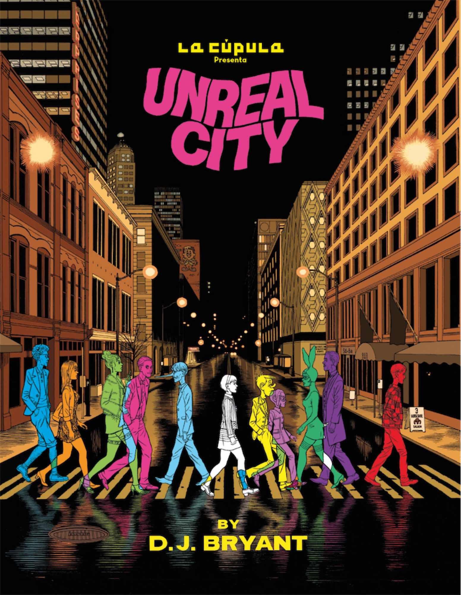 Portada libro - Unreal City