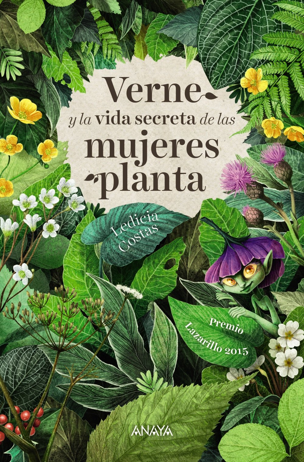 Portada libro - Verne y la vida secreta de las mujeres planta