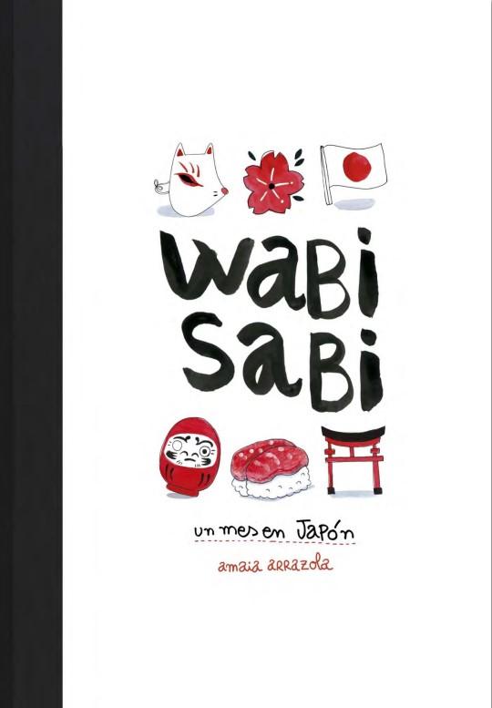 Portada libro - Wabi Sabi: un mes en Japón