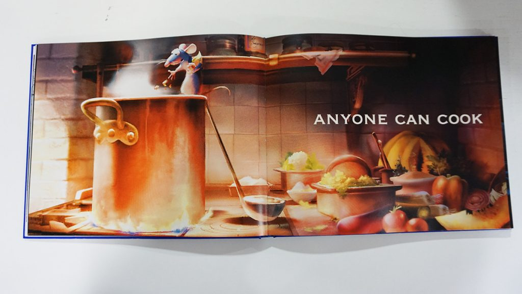 Artbook de Ratatouille