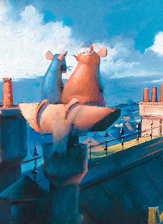 El Artbook de Ratatouille y sus personajes