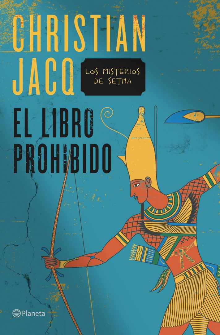 """Sale a la venta """"El libro prohibido"""", de Christian Jacq"""