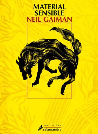 Salamandra presenta Material sensible, de Neil Gaiman