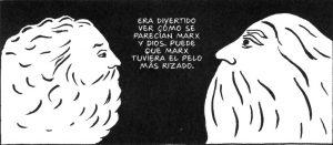 Persépolis Dios y Marx