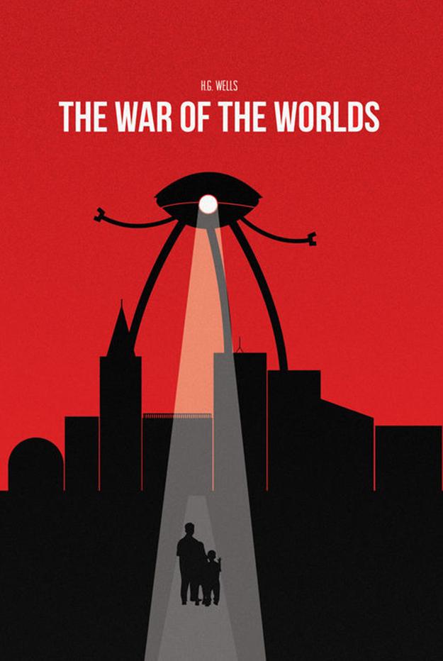 posrtada la guerra de los mundos