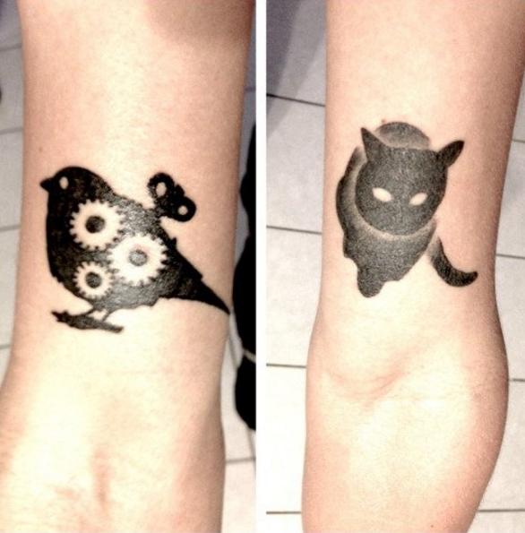 25 tatuajes inspirados en libros - crónica de un pájaro sin cuerda