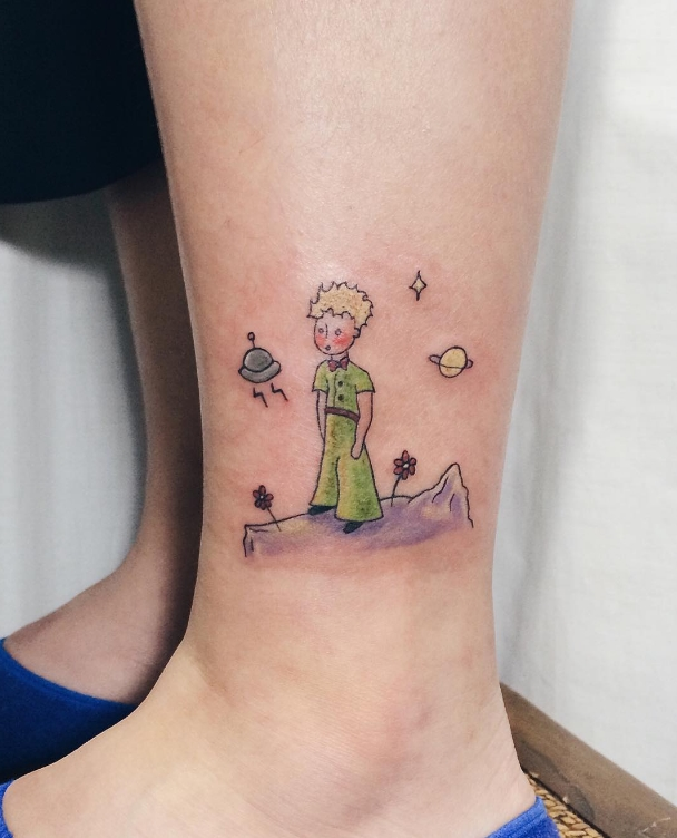 25 tatuajes inspirados en libros - el principito 3