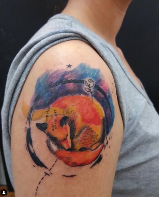 25 tatuajes inspirados en libros - el principito 4