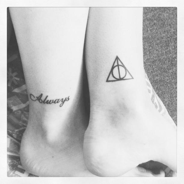 25 tatuajes inspirados en libros - harry potter 2