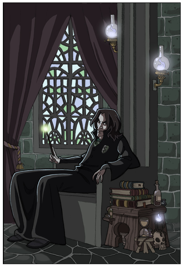 fan arts snape