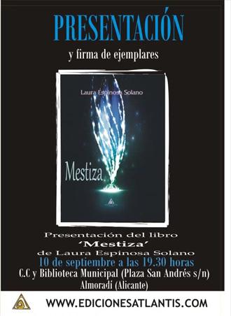 Presentación de Mestiza, de Laura Espinosa Solano