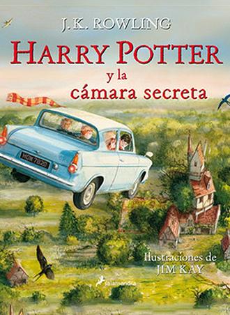 Harry Potter y la cámara secreta: la edición Ilustrada sale a la venta