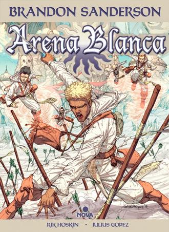 Publicación de Arena Blanca, una adaptación gráfica de Brandon Sanderson