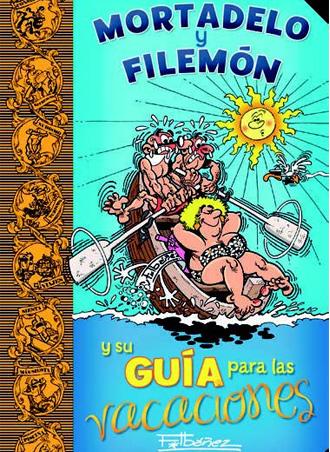 Mortadelo y Filemón y su guía para las vacaciones de Francisco Ibañez