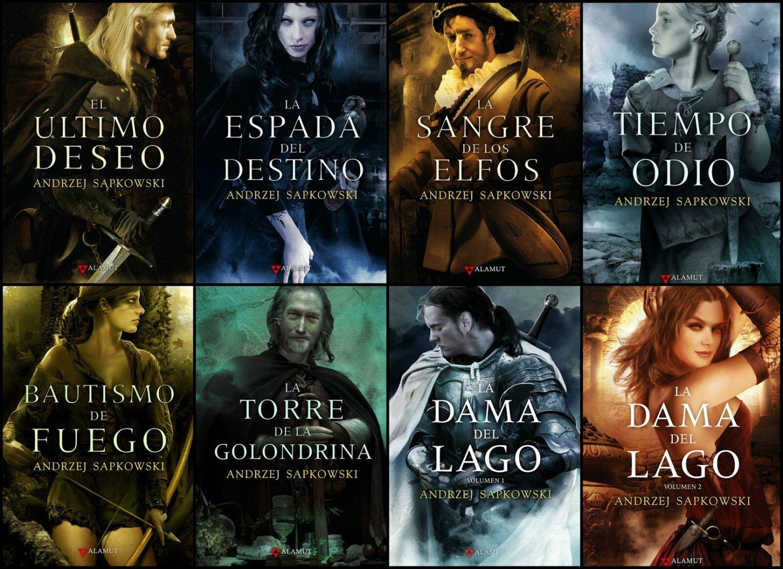 Orden de lectura de la Saga de libros de Geralt de Rivia
