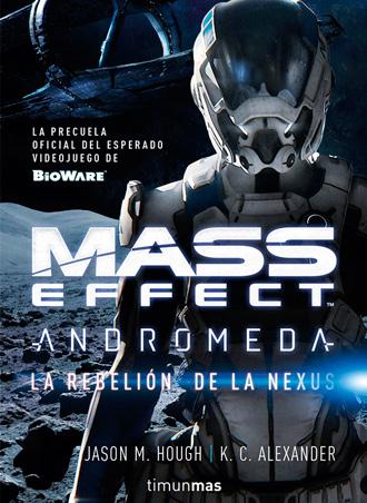 La rebelión de la Nexus, análisis del libro de Mass Effect Andromeda