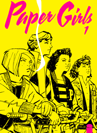 Reseña de Paper Girls, la serie de cómics de Vaughan